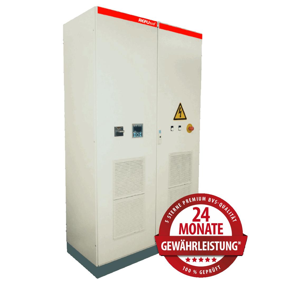 REFUsol Zentralwechselrichter – Produktüberholende Reparaturen & Service
